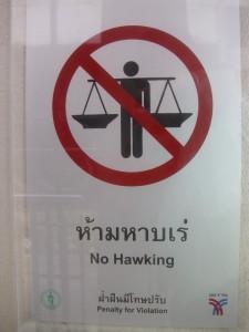 Bangkok: Auch dies kann verboten sein