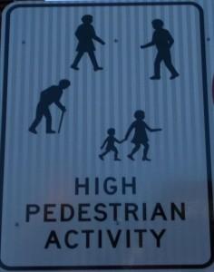 Hinweis für Autofahrer in Sydney: Erhöhte Fußgängerfrequenz