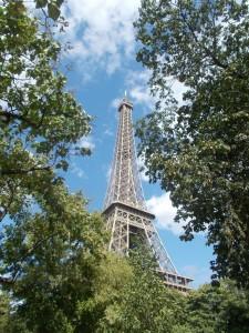 ... und den Eiffelturm