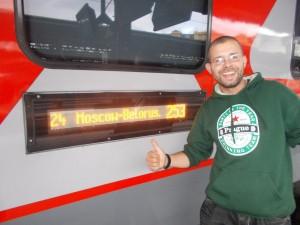 Wieder ein Zug nach Moskau